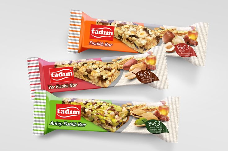 #packaging #design for Tadım dryed fruit & nut bars by Orhan Irmak Tasarım | Creative Packaging & Design