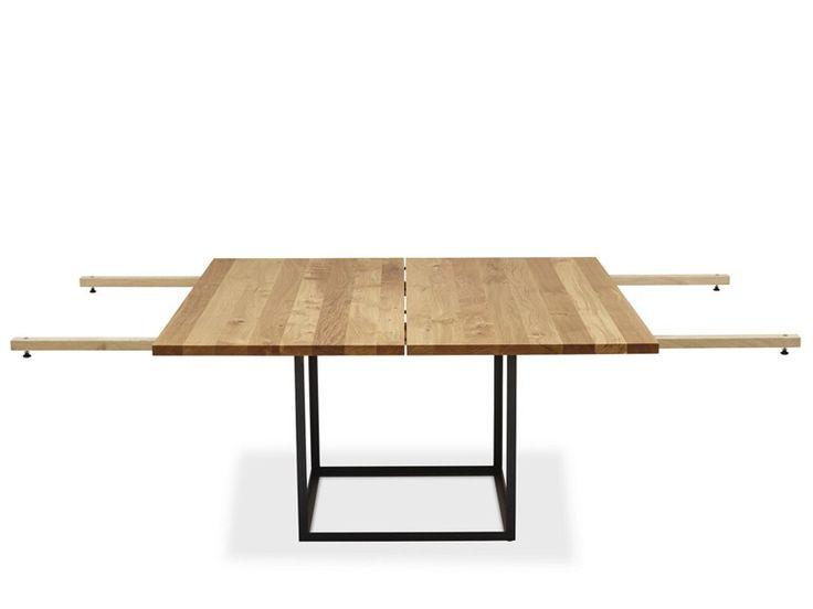 TAVOLO ALLUNGABILE QUADRATO IN ROVERE JEWEL TABLE | TAVOLO QUADRATO | DK3