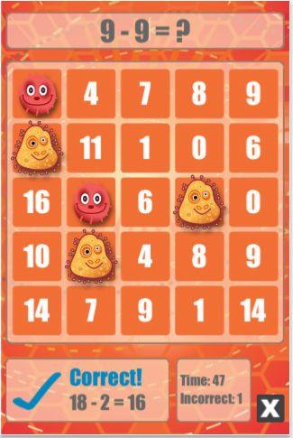 Math Bingo App - perfect for avoiding the summer slide