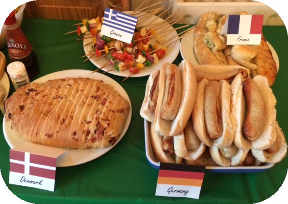 Eurovision Song Contest Party #eurovision Countries, food and drink ideas - costumes for Europe