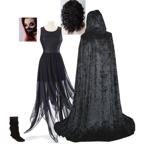 Dementors Costume by nickpick on Polyvore featuring Minnetonka