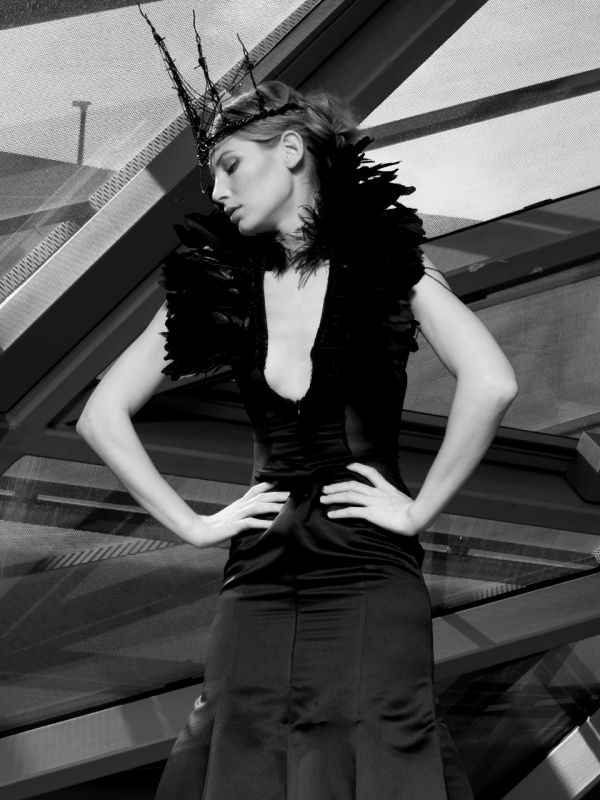 GNTM Shooting - Model Sarah Brandner - by Corporate Creation