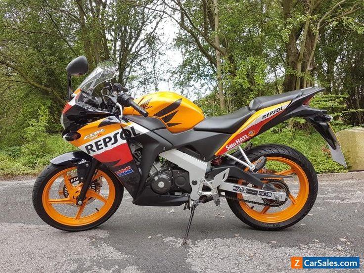 Honda CBR125 Repsol 2012 HPI clear cbr125r not r125 CHEAP #honda #cbr #forsale #unitedkingdom