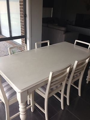 French Provincial Shabby Chic Rustic Dining Table Chairs   eBay11 best outdoor dining images on Pinterest   Outdoor dining  . Shabby Chic Dining Room Table Ebay. Home Design Ideas