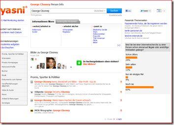Neues Rubrikenscrolling auf den Suchergebnisseiten