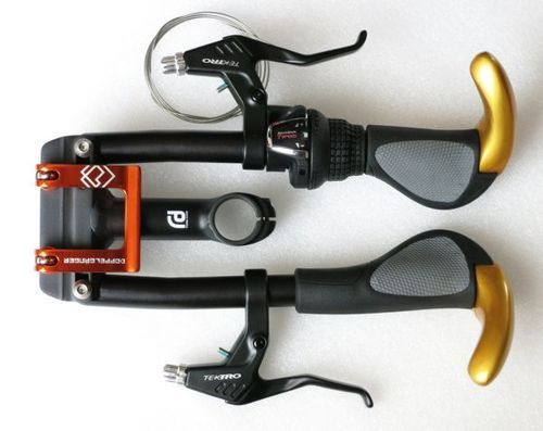 Have you tried the A.H.S. folding handlebars?
