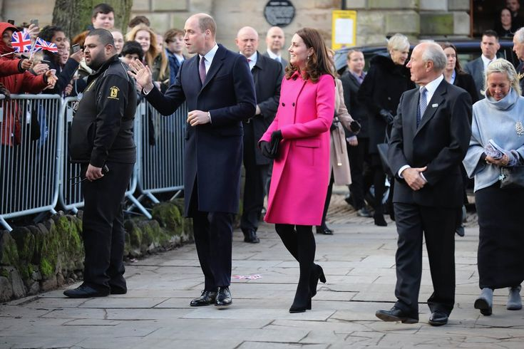 Kate Middleton's Hot Pink Coat Will Make You Want to Ditch Your Black Outerwear