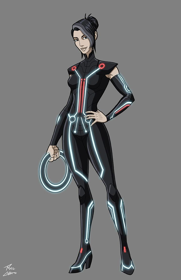 Tron: Uprising- Paige (Rebel) commission by phil-cho on DeviantArt