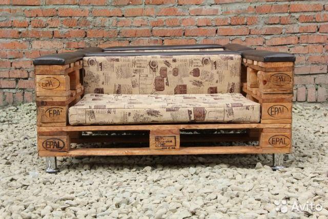 """Мебель для кафе из паллет, набор """" Премиум"""""""
