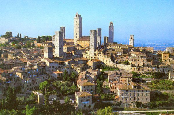 Σαν Τζιμινιάνο: Η μεσαιωνική πόλη με τους όμορφους πύργους