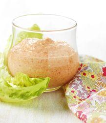 Recept » Colruyt Culinair (pittige dipsaus met feta en gegrilde paprika)