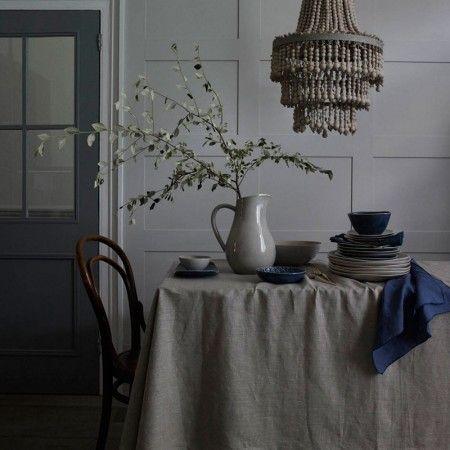 Murmur Stoneware Dinner Plate In Grey Murmur
