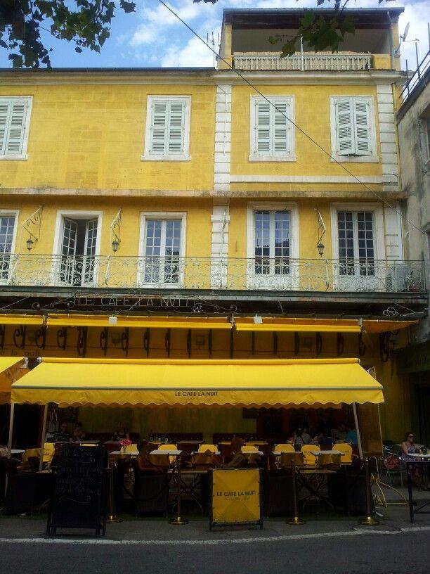 Van Gogh cafe in Arles