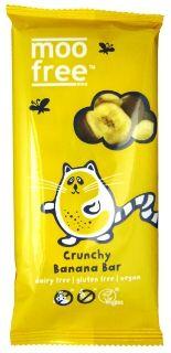 Moo Free Crunchy Banana Milk Chocolate 100g