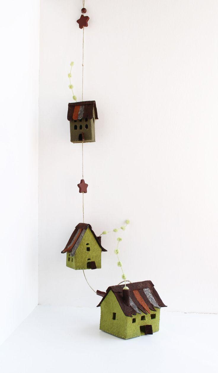 Attaccatura case Mobile regali fatti a mano Housewarming di Intres