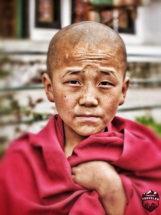 A young Indian monk in Tawang Monastery #india #monk #tawang #nagaland #warrior #travel #portrait #face