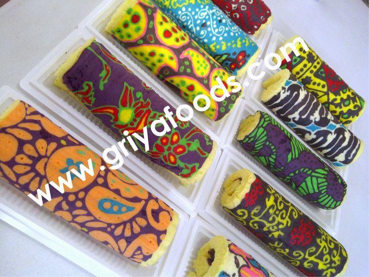 Kursus Kue Di Pekanbaru Bolu Gulung Batik Membuat  cakepins.com