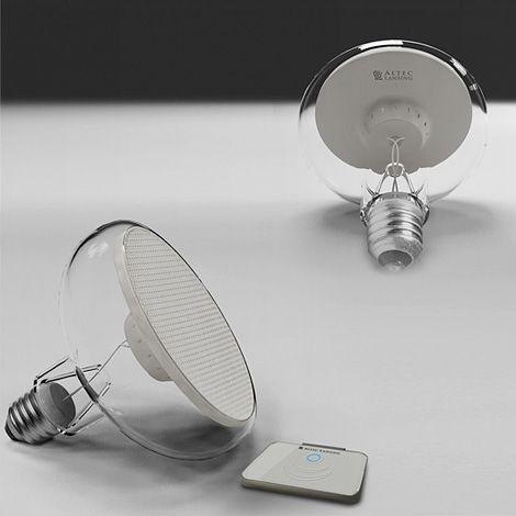 bulb sound speaker