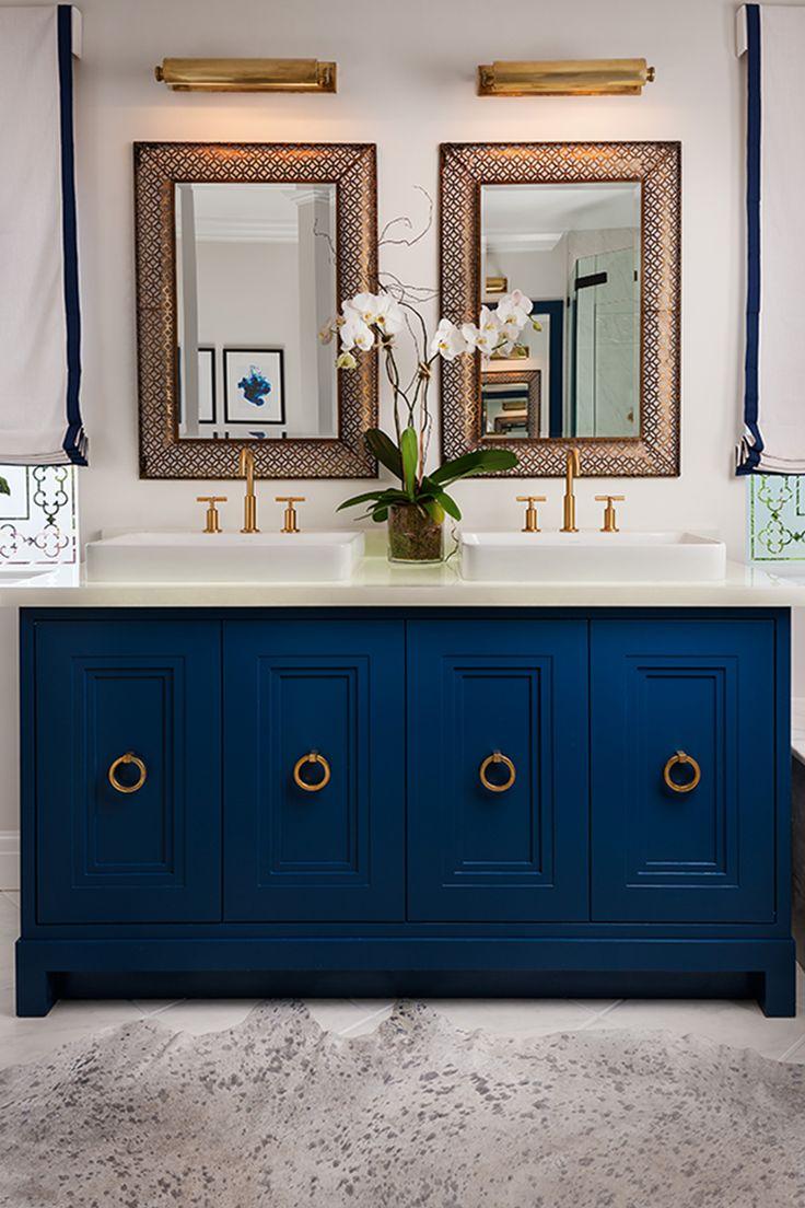 hudson valley lighting bathroom vanity top ring pulls blue - Designs For Bathroom Cabinets