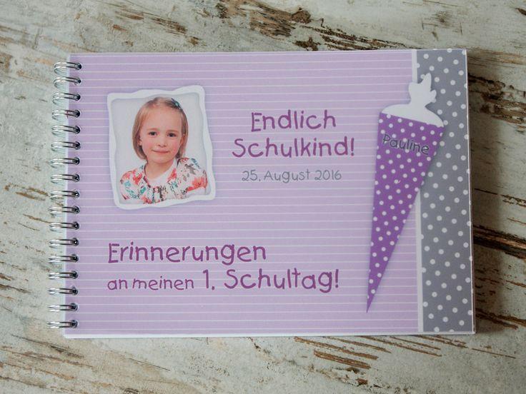 Weiteres - Gästebuch Fotoalbum Einschulung 1. Schultag N°12 - ein Designerstück von PuckisKram bei DaWanda