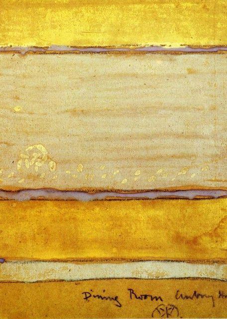 Charbon et gouache sur papier brun, Hunterian Art Gallery, université de Glasgow