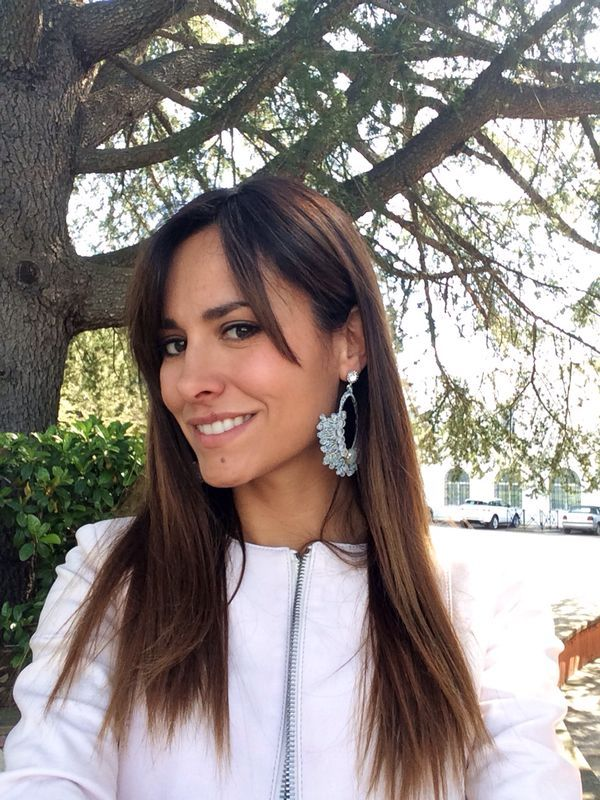 Un #selfie di Michela Coppa mentre indossa #bijoux della collezione Barbieri Creazioni #ss2014 acquistabili sullo shop on line www.barbiericreazioni.it
