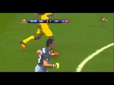 Gol de Moisés Muñoz / Final América vs Cruz Azul 2013 - YouTube