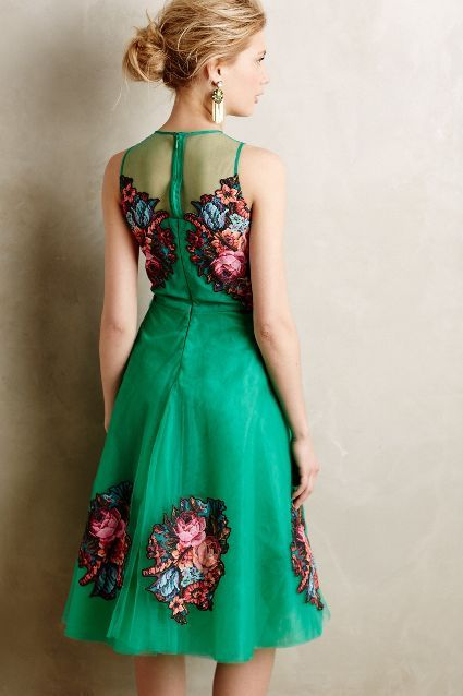 Coral Tree Dress - anthropologie.com #anthrofave