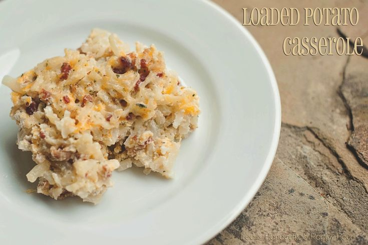 Pearls, Handcuffs, and Happy Hour: casserole