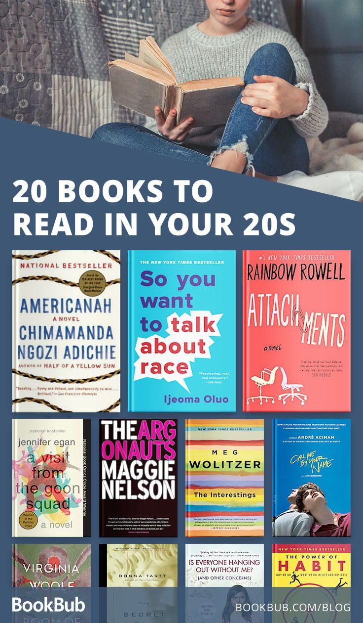 The Ultimate List Of Books To Read In Your 20s Books To Read In Your 20s Books To Read Book Club Books