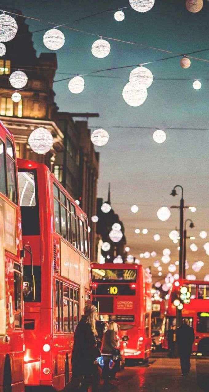 [クリスマス]おしゃれなクリスマスタウン iPhone壁紙 Wallpaper Backgrounds iPhone6/6S and Plus  Christmas iPhone Wallpaper