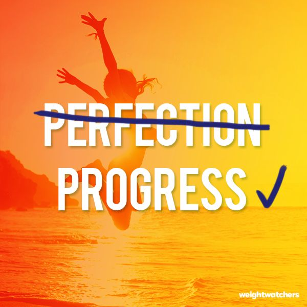 Progress is everything!