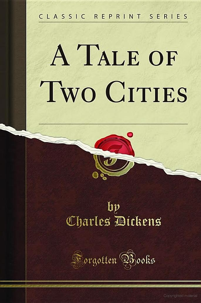 Why did Charles Dickens write A Tale of Two Cities?