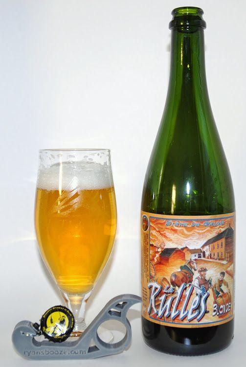 Brasserie Artisanale de Rulles La Rulles Blonde – Belgian Strong Pale Ale at 7% ABV | RyansBooze