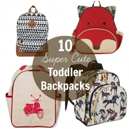 10 Super Cute Toddler Backpacks For Back-To-School