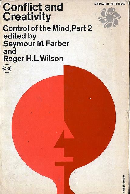 Rudolph de Harak / Conflict and Creativity — #Book #Paperback #Cover
