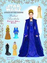 I actually own this paper doll book... still...Padme Lake Dress
