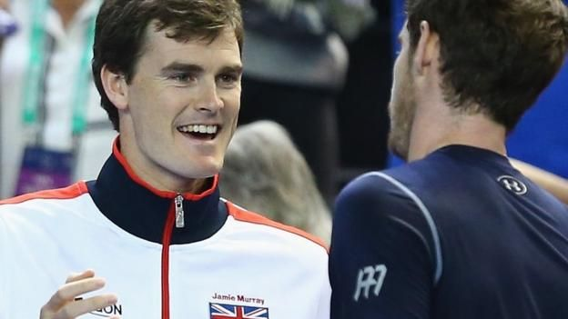 How Jamie Murray beat brother Andy to world number one spot - BBC Sport