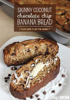 designer handbags clearance sale Skinny Coconut Chocolate Chip Banana Bread | Recipe | Breads, Coconut Chocolate and Banana Bread