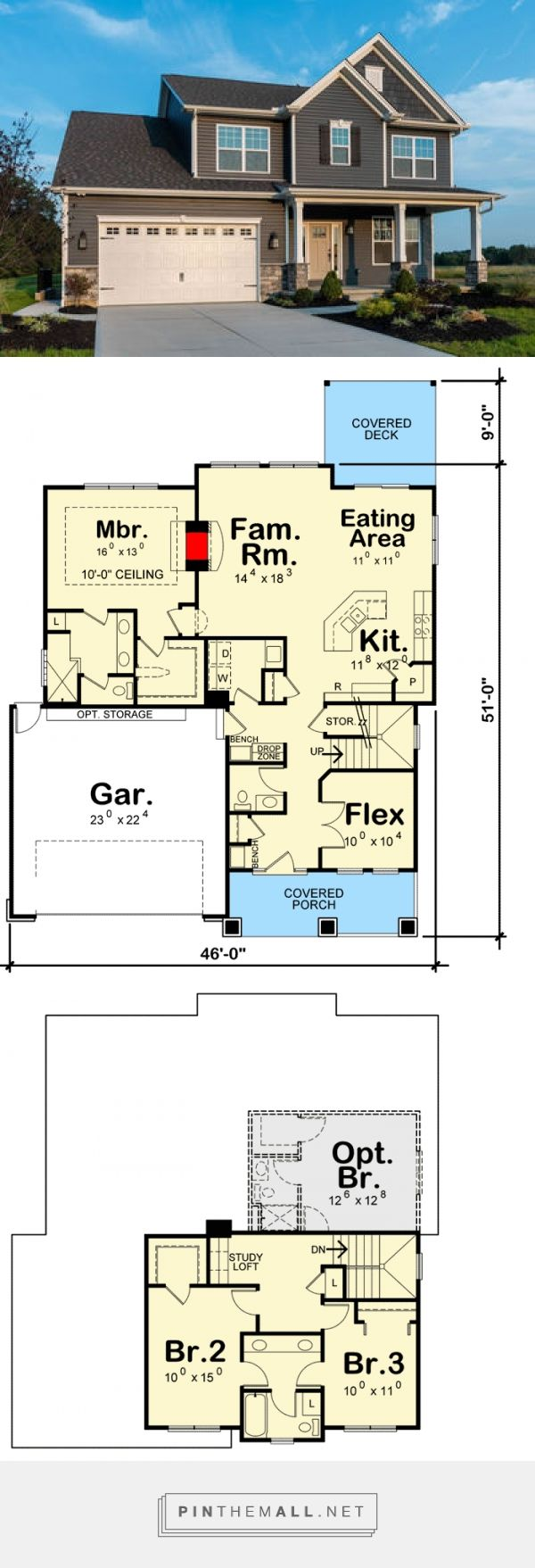 331 best sims images on pinterest house floor plans sims house plan 42383db traditional house plan with optional 4th bedroom and flex room
