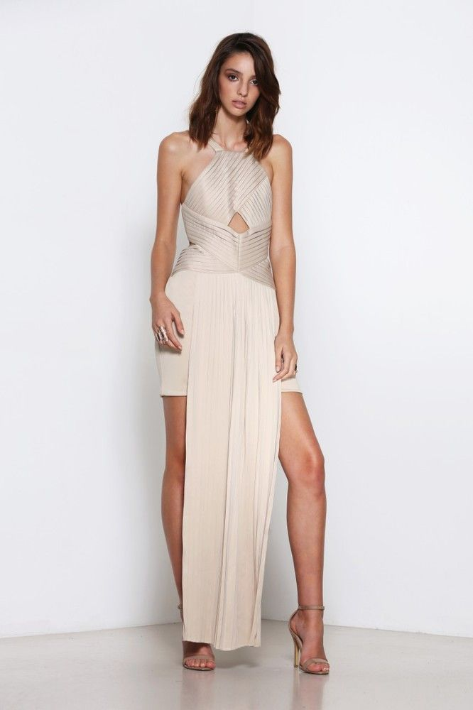 Premonition - Divinity Evening Dress - Nude