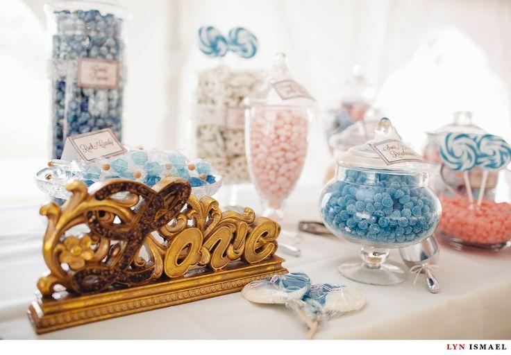 Nithridge Estate Wedding | Abbey and Matt | candy bar | blue and pink