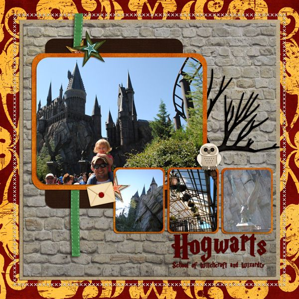 Wizarding World of Harry Potter - Page 9 - MouseScrappers.com