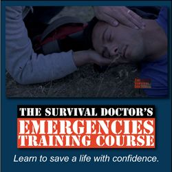 Do you feel confident enough to walk up to a medical emergency and assess the situation well enough that you can apply a tourniquet, perform CPR correctly or even help with a chest wound? The Survival Doctor's Emergencies Training Course will give you the confidence to do just that. Help learn to save a life. It is really worth it.