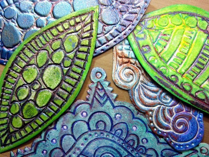Printing with Gelli Arts®: Gelli™ Printing with DIY Foam Printing Plate Stamps!