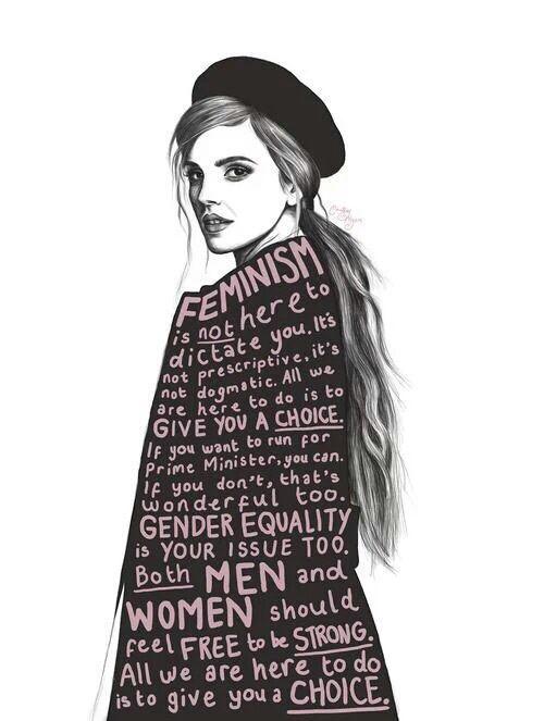 Imagem de feminism, emma watson, and woman