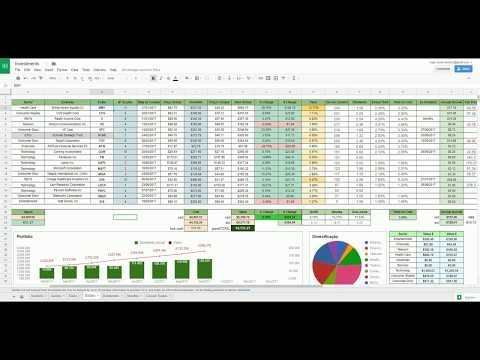 28) Build your own Portfolio Tracker on Google Sheets - YouTube
