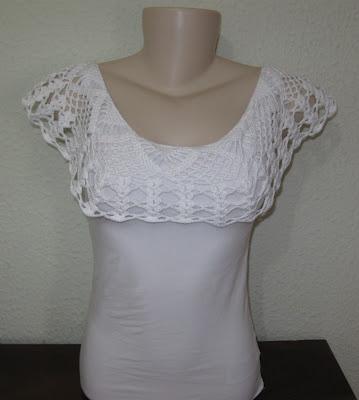 Celeidapaixaoportrico: customização em croche.
