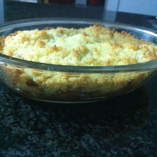 Your Inspiration at Home features Annie's Apple Crumble. #YIAH #apples www.yourinspirationathome.com.au