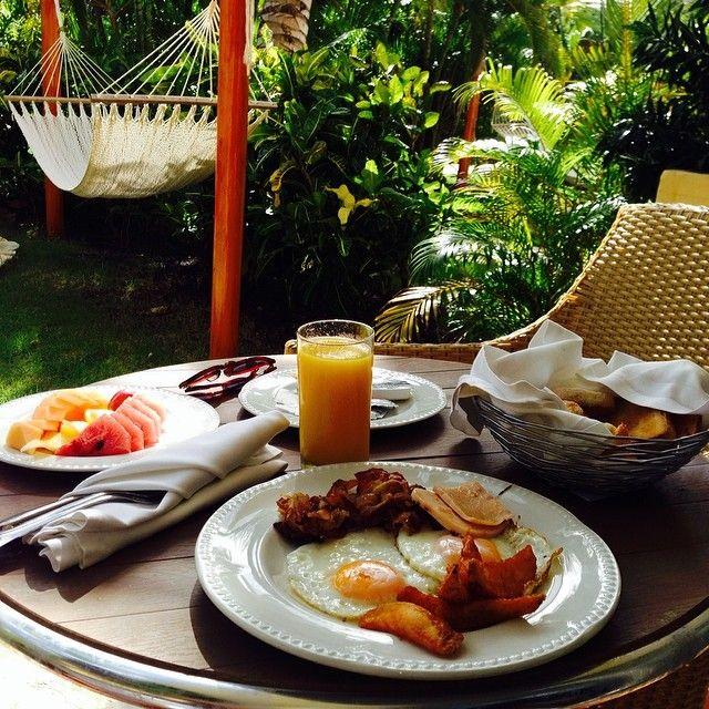 Breakfast fro champions! ;) #ExcellencePuntaCana #AllIncluisiveLuxury
